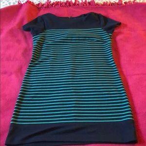 Thigh length dress